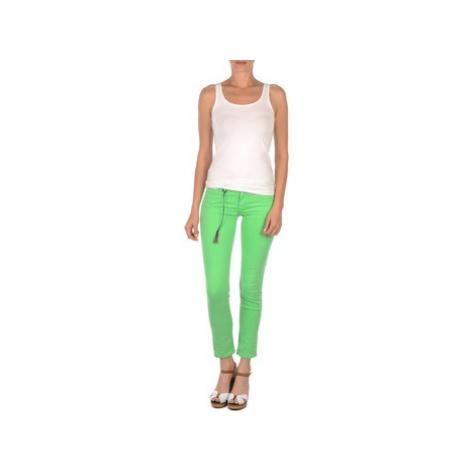 Lee SCARLETT women's Cropped trousers in Green