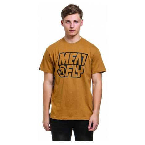 T-Shirt Meatfly Repash - A/Heather Mustard - men´s