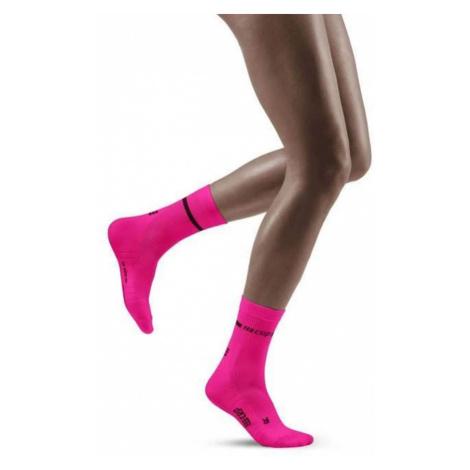 CEP Neon Compression Mid Cut Women's Socks - AW20