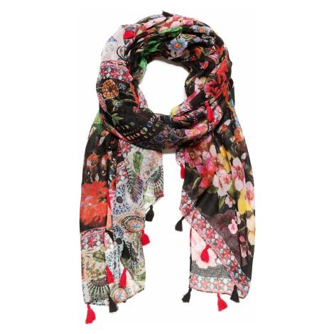 shawl Desigual 18WAWW47/Micro Raport - 3005/Rojo Sangre