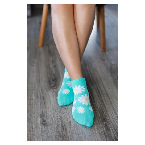 Barefoot Socks - Low-Cut - Daisies 43-46