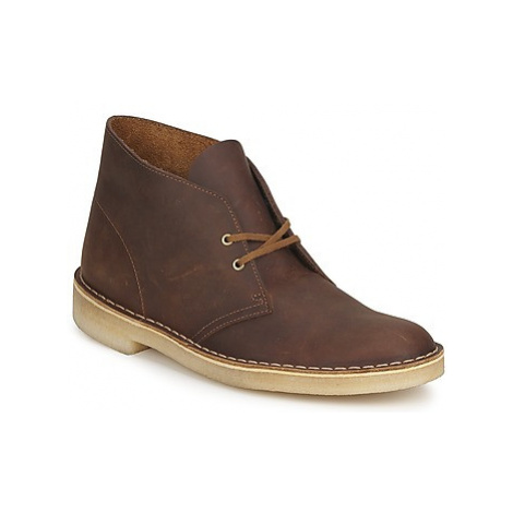 Clarks DESERT BOOT men's Mid Boots in Brown
