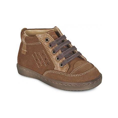 Citrouille et Compagnie FIMOULA boys's Children's Mid Boots in Brown