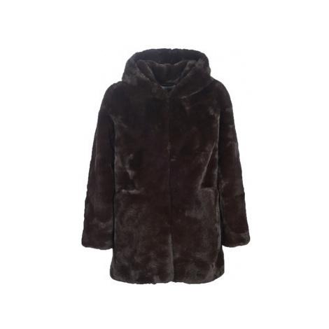 Derhy GABONBACK women's Coat in Brown