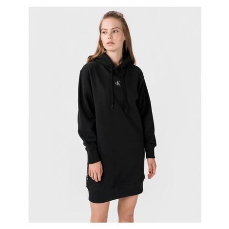 Calvin Klein Outline Logo Dress Black