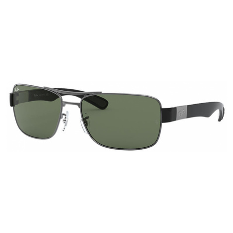 Ray-Ban Rb3522 Man Sunglasses Lenses: Green, Frame: Gunmetal - RB3522 004/71 64-17
