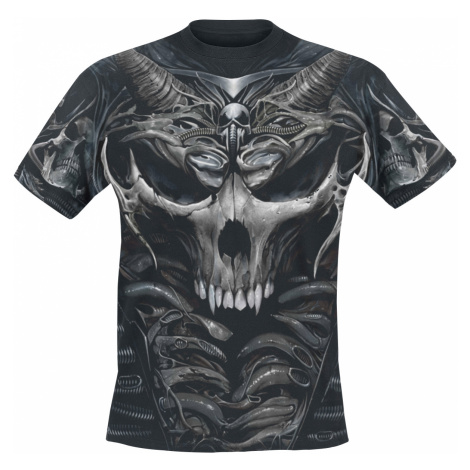 Spiral - Skull Armour - T-Shirt - black