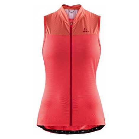 Craft HALE GLOW W red - Women's cycling top