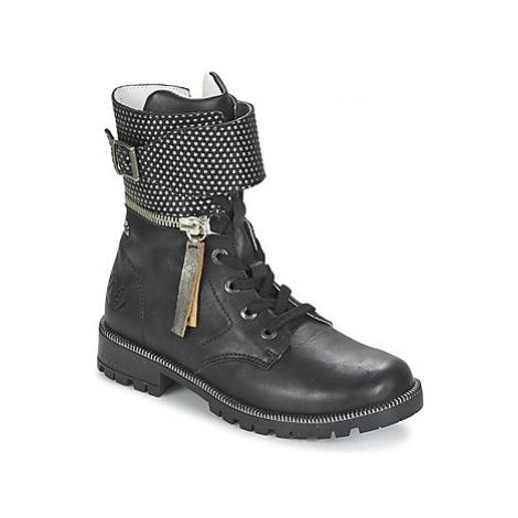 Ikks PEGGY girls's Children's Mid Boots in Black