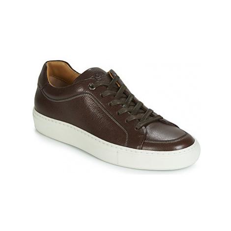 BOSS MIRAGE TENN GT men's Shoes (Trainers) in Brown Hugo Boss