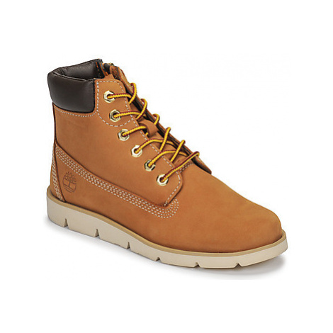 "Timberland Radford 6 Boot WHEAT"""" girls's Children's Mid Boots in Brown"