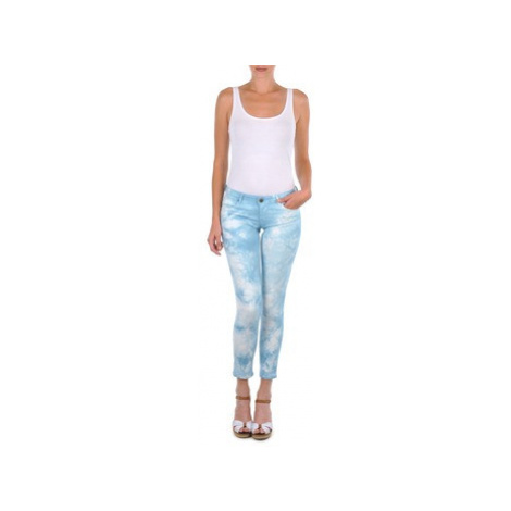 Cimarron CLARA TIE DYE women's Cropped trousers in Blue