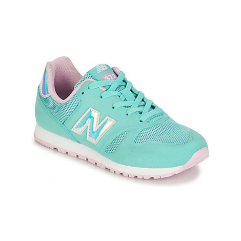 New Balance YR373 girls's Children's Shoes (Trainers) in Green