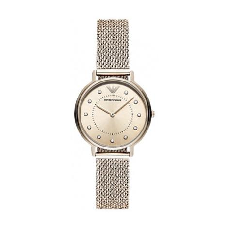 Emporio Armani Women's Crystal Mesh Bracelet Strap Watch