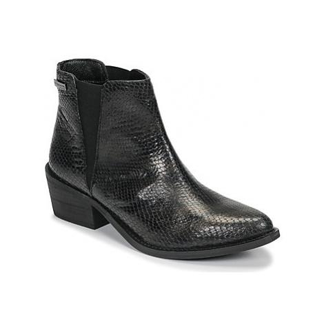 Les Tropéziennes par M Belarbi LUNE women's Low Ankle Boots in Black