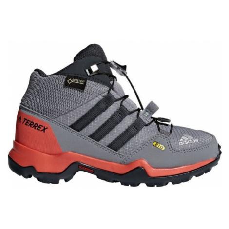 adidas TERREX MID GTX K grey - Kids' outdoor shoes