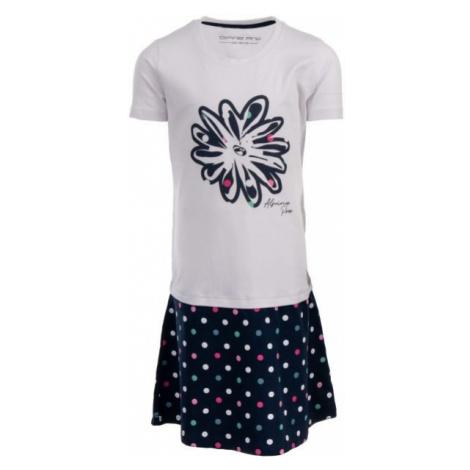 ALPINE PRO THOMASO white - Girls' dress