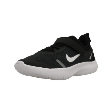 Nike FLEX EXPERIENCE RN 8 PS boys's Children's Shoes (Trainers) in Black