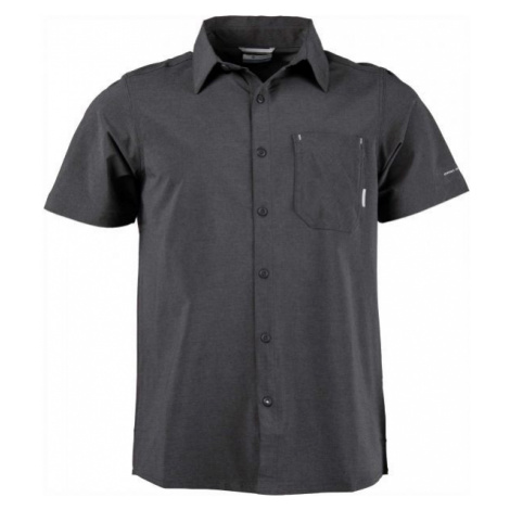 Columbia TRIPLE CANYON SHORT SLEEVE SHIRT black - Men's outdoor shirt