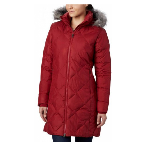 Columbia ICY HEIGHTS II MID LENGHT DOWN JACKET red - Women's winter jacket