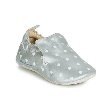 Catimini CATA girls's Children's Slippers in Silver