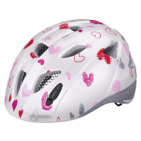 Alpina Sports XIMO pink - Kids' cycling helmet