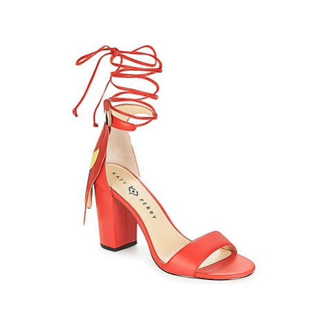 Katy Perry THE PIERRA women's Sandals in Red