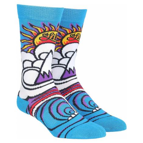 Lib Technologies JL MTN Wave Socks - Blue
