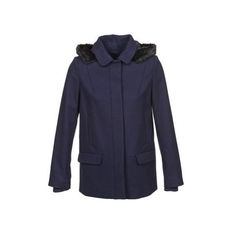 Naf Naf ARMANDE women's Coat in Blue