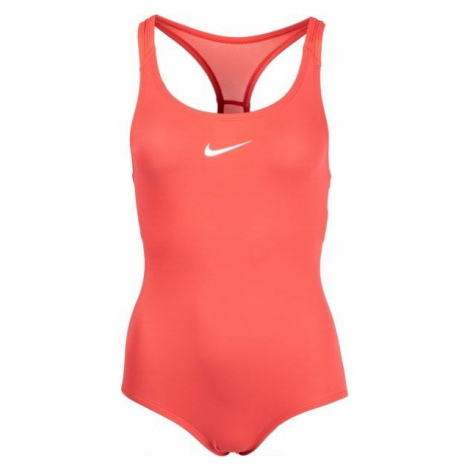 Nike SOLID orange - Girls' swimsuit