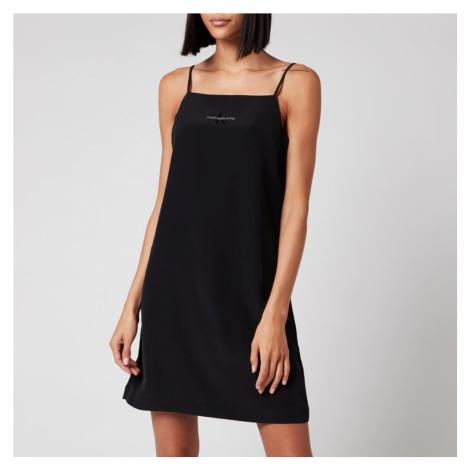 Calvin Klein Jeans Women's Monogram Slip Dress - CK Black
