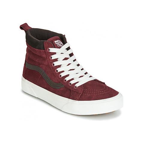 Vans SK8-HI MTE women's Shoes (High-top Trainers) in Red