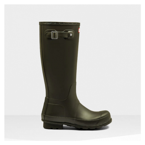Hunter Men's Original Tall Wellies - Dark Olive - UK