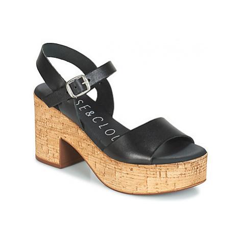 Musse Cloud DENISE women's Sandals in Black Musse & Cloud
