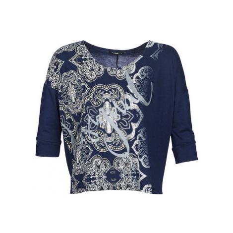 Desigual NISSA women's Sweater in Blue
