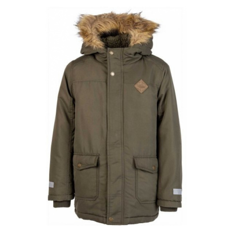 Lewro ARTUR green - Boys' winter coat
