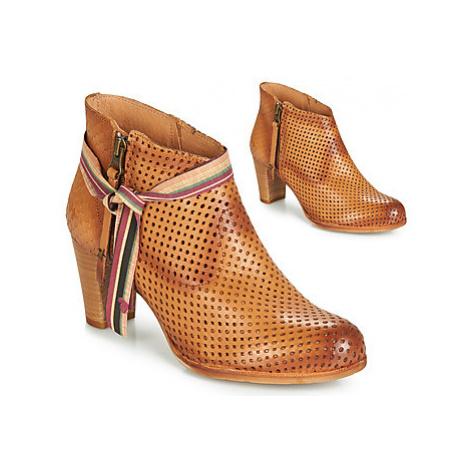 Felmini ENCANASTRA women's Low Ankle Boots in Brown