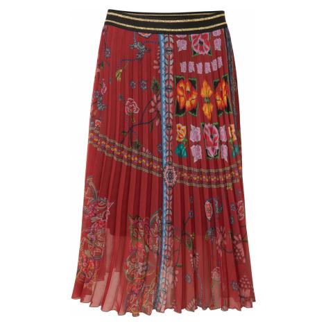 Desigual Francia Skirt Red
