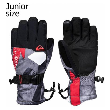 glove Quiksilver Mission - NZG6/Poinciana Giantforce - boy´s