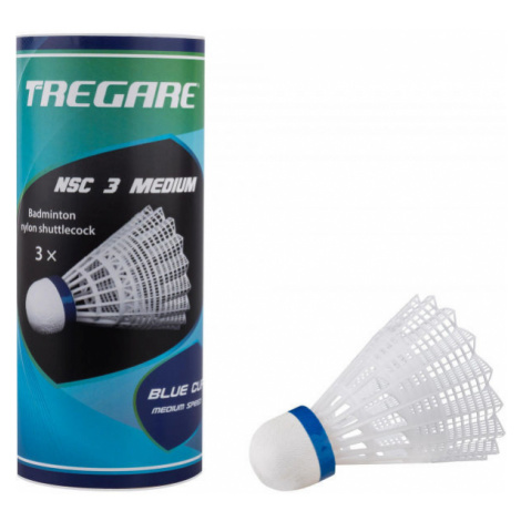 Tregare NSC 3 MEDIUM WHITE - Badminton shuttlecocks