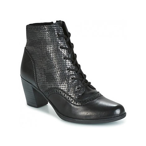 Rieker NOUMIA women's Low Ankle Boots in Black