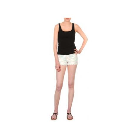 School Rag SELENA FLOWERS women's Shorts in White