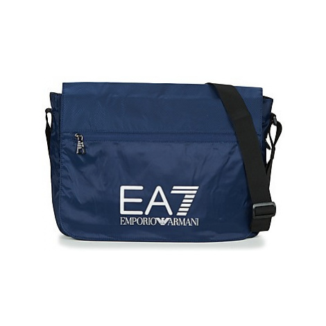 Emporio Armani EA7 TRAIN PRIME U MESSENGER men's Messenger bag in Blue