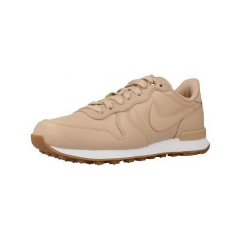 Nike INTERNATIONALIST PRM FA1 women's Shoes (Trainers) in Beige