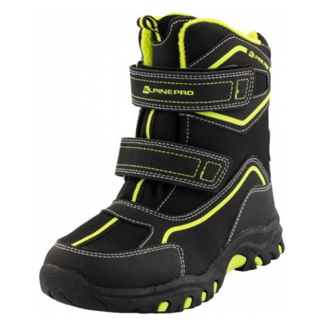 ALPINE PRO MUNDO black - Kids' winter shoes