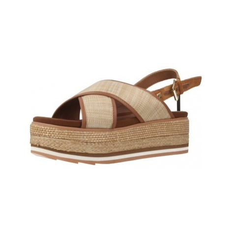 Gioseppo 47205G women's Espadrilles / Casual Shoes in Brown