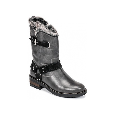 Superdry TEMPTER BOOT women's Mid Boots in Grey
