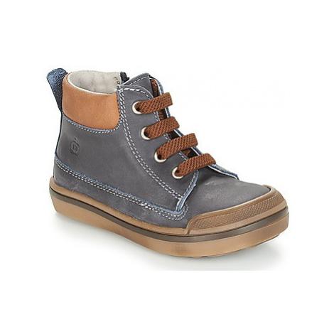 Citrouille et Compagnie JIK boys's Children's Mid Boots in Blue