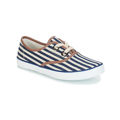 André MELON women's Shoes (Trainers) in Blue