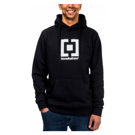 Horsefeathers LEADER SWEATSHIRT black - Men's sweatshirt